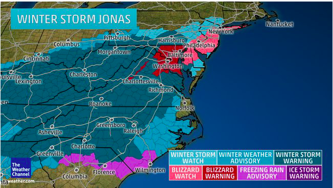 Winter Storm Jonah